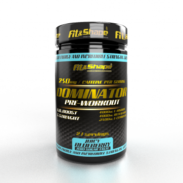 Dominator® Pre-Workout Blueberry