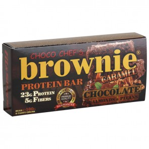BROWNIE ® PROTEIN BAR - CARAMEL & ALMONDS - 100гр